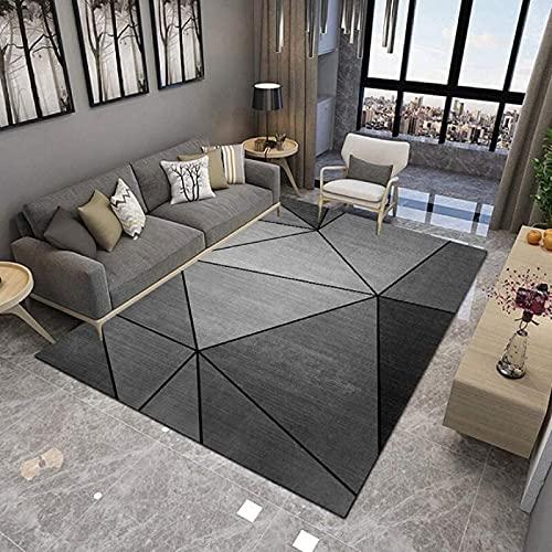 Tappeti Camera da Letto Grandi Dimensioni Quadri Soggiorno Tappeto Soggiorno Moderni Sala Pelo Corto Ragazza Mochette per Interni 160 * 200CM(5.25 * 6.6ft)