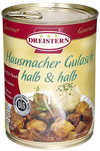 Dreistern Gulasch halb & halb, 540 g