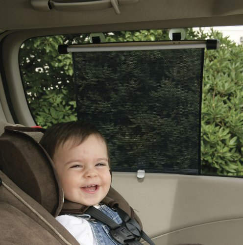 Safety 1st Deluxe Car Window Roller Shade, Sun Protection for Baby,...
