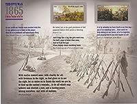ホット。 The Civil War 1865スタンプシート 12枚入り オフィス製品 ラベル インデックス&学校用品 スタンプ用品 郵便物