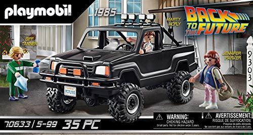 PLAYMOBIL Back to the Future 70633 Camioneta Pick-up de Marty, A partir de 5 años