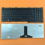 kompatibel mit Toshiba Satellite L350, L350D Tastatur - Farbe: schwarz - MATT Version - Deutsches Tastaturlayout