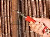 Catral 48010009 Twister Hook y 100 Bridas, Marron, 22x3x8 cm
