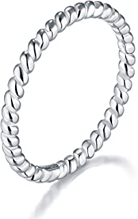 Best basic silver rings Reviews