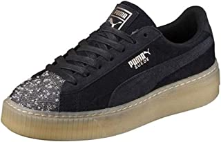 scarpe puma basket azzurre