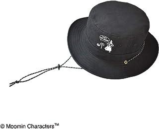 セントレディス MOOMIN ムーミン サファリハット リトルミイ ブラック ST-NM0007 頭周(約)57.5cm