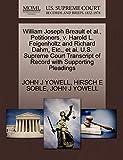 William Joseph Breault et al., Petitioners, v. Harold L. Feigenholtz and Richard Dahm, Etc., et al. U.S. Supreme Court Transcript of Record with Supporting Pleadings