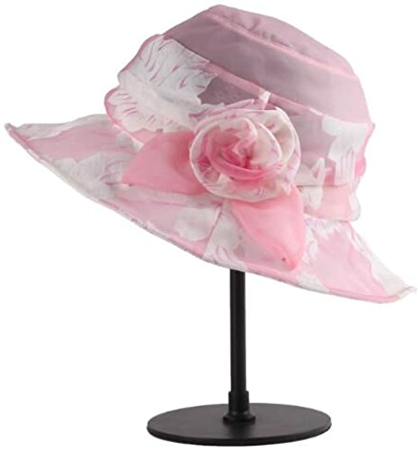 HSNZZPP été Mulberry Soie Style Chapeau Femme Grand Chapeau De Soie Pliable