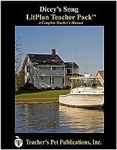 Dicey's Song LitPlan - A Novel Unit Teacher Guide With Daily Lesson Plans (LitPlans on CD)