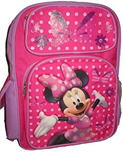 Disney (Disney) Minnie Mouse sac à dos girl rose violet glitter parallel import goods IBTH (japan import)