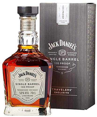 Jack Daniels Single Barrel 100 Proof Whisky - 1 x 0.7 l