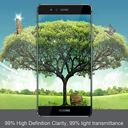 iVoler [3 Stücke] Panzerglas Schutzfolie für Huawei P9+ / Huawei P9 Plus, [Volle Bedeckung] Panzerglasfolie foliefolie Hartglas Gehärtetem Glas DisplayPanzerglas - 6