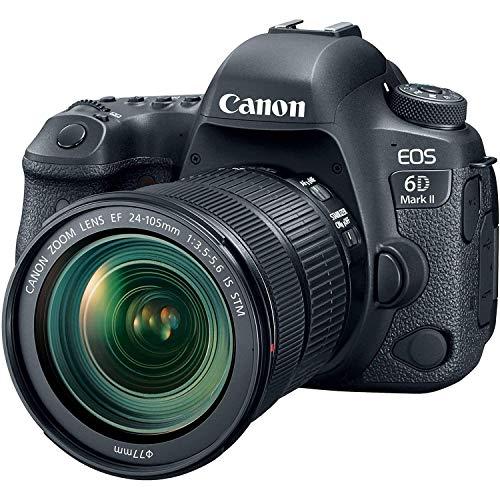 Canon EOS 6D MK II 26.2 MP + 24-105 IS STM (Reacondicionado)