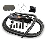 Metro Vac Revolution Extra Bonus - Includes 3 Additional Filters - Metro Vac Revolution W/ 30 Foot Hose - MB-3CD SWB - 30 - Air Force Master Blaster Car And Motorcycle Air Dryer - Made In The USA