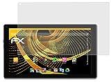 atFolix Panzerfolie kompatibel mit Blaupunkt Endeavour 1001/101G Schutzfolie, entspiegelnde & stoßdämpfende FX Folie (2X)