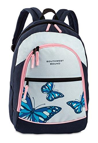 Southwest Bound, Rucksack, Butterfly, 47 x 28 x 32 cm (Blau/ Hellblau)