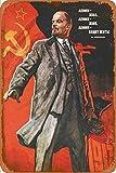 Cimily Lenin Forever Soviet Propaganda Vintage