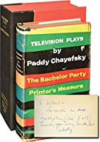 Television Plays 0671211331 Book Cover