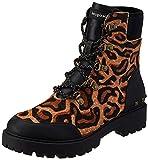 Desigual Shoes_Biker_leopa, Bota Moderna Mujer, marrón, 41 EU