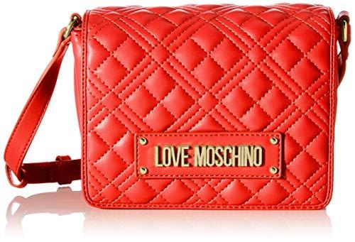 Love Moschino Precollezione ss32, Sac à l'épaule Femme, Rouge, Normal