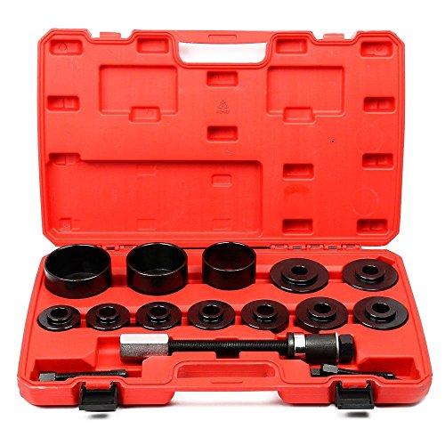 BMOT Radlager Werkzeug 26 TLG Radnabe Abzieher für Alle Gängigen Radlagerabzieher Montage Demontage Radnabenentfernung Werkzeugsatzentfernung