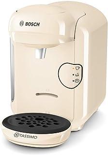 comprar comparacion Bosch TAS1407 Tassimo Vivy 2 - Cafetera Multibebidas Automática de Cápsulas, Diseño Compacto, color Vainilla