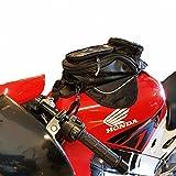 HMMJ Easy Bag, Oxford Alforja para Motos, Pequeño Tanque de Combustible del Aceite Bolsa 35 * 17cm, Prueba de Agua por Teléfonos o para GPS