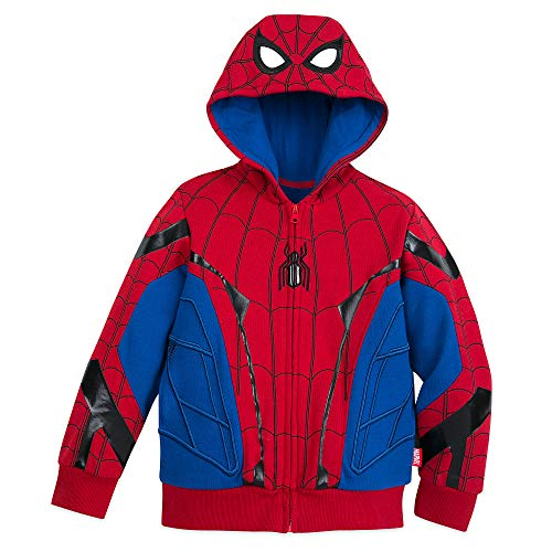 Marvel Spider-Man Hooded Jacket - Spider-Man: Far from Home Size 2 Black