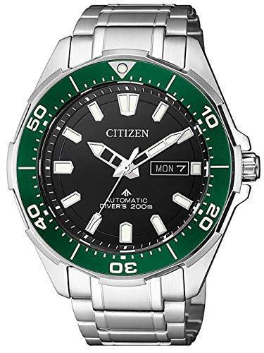 CITIZEN Herren Analog Automatik Uhr mit Super Titanium Armband NY0071-81EE