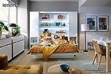 Schrankbett Bed Concept, Wandklappbett mit Lattenrost, V-Bett, Wandbett Bettschrank Schrank mit integriertem Klappbett Funktionsbett (BC-01, 140 x 200 cm, Weiß/Weiß, Vertical) - 7