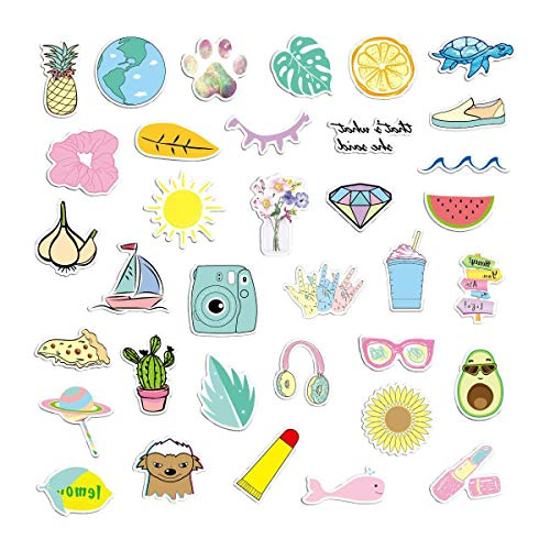 Emma's VSCO Stickers for Hydroflasks, Waterproof Stickers, Hydroflask Stickers Waterproof Girls | Hydro Flask Stickers, Cute Stickers for Laptop, Hydro Stickers VSCO | Pack of Stickers for Teen Girls