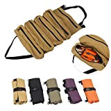 TUXI Werkzeugtasche, strapazierfähig, mit 5 Reißverschlusstaschen, Leinen-Zangen-Organizer,...
