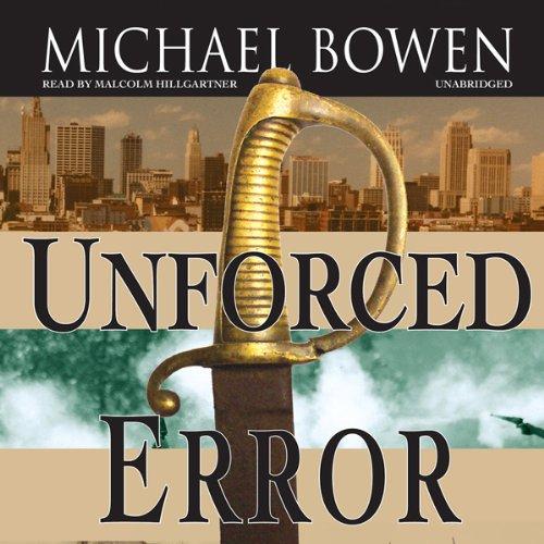 Unforced Error audiobook cover art