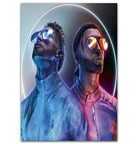 Album Poster gedruckt Leinwand Wandbilder Werden für die Raumdekoration verwendet Kein Rahmen