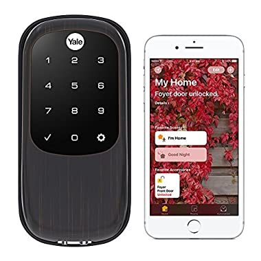 Yale Security YRD246-iM1-0BP Assure LOCK Yale Assure LOCK Key Free with IM1 Network Module (Homekit-Enabled) In (YRD246), Polished Brass