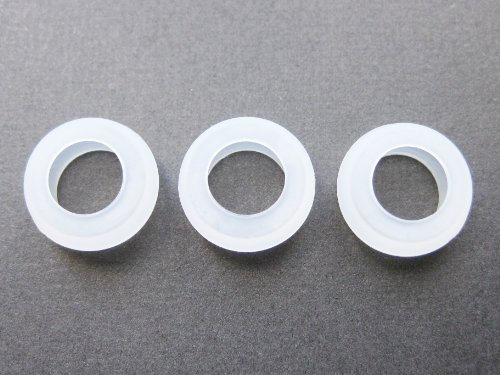 3 Small Eargels for Motorola Elite Sliver HZ750 Wireless Bluetooth Headset