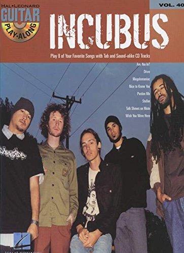 Guitar Play-Along Vol.040 Incubus + Cd