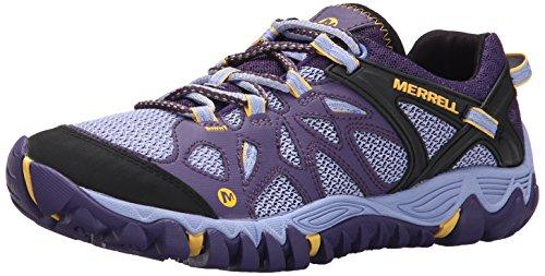 Merrell Women's All Out Blaze Aero Sport Hiking Water Shoe,Parachute Purple,7 M US