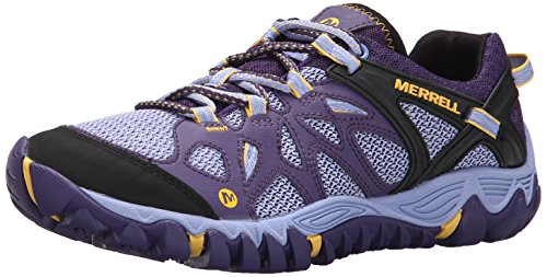 Merrell Women's All Out Blaze Aero Sport Hiking Water Shoe,Parachute Purple,7 M US