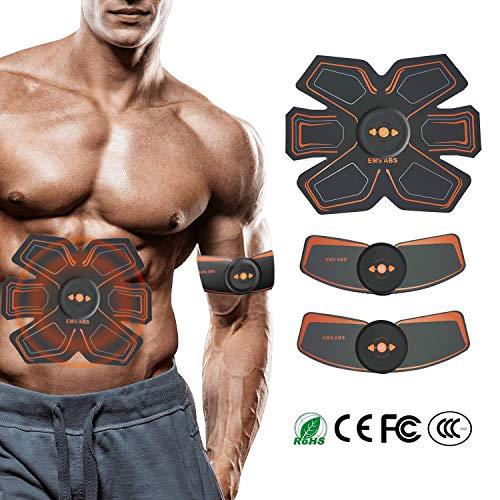 LOXIN Bauchmuskeltrainer Elektrisch Elektrostimulator Muskel EMS Training Massage gürtel Elektrostimulatio