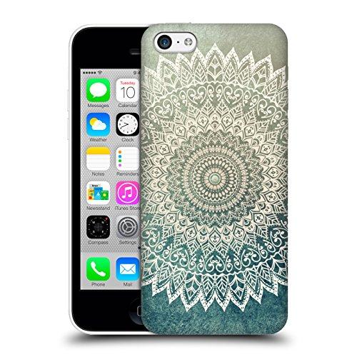 Head Case Designs Licenza Ufficiale Nika Martinez Foglie d'Autunno Mandala Cover Dura per Parte Posteriore Compatibile con Apple iPhone 5c