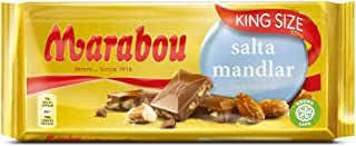 Salta Mandlar de chocolate con leche marabú - almendra salada, 200 g (¡Nueva