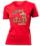 Römerkostüm Römer Kostüm Kleidung 1804 Damen T-Shirt Frauen Karneval Fasching Faschingskostüm...