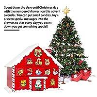 Questo calendario dell'avvento in legno decorativo è l'oggetto perfetto per aggiungere allegria festosa alle tue feste! Questo villaggio natalizio completerà qualsiasi tema di decorazioni natalizie ed è sicuro di portare lo spirito natalizio a casa t...