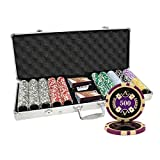 500pcs Ace Casino 14 Gram Poker Chip Set Aluminum Case Custom Build