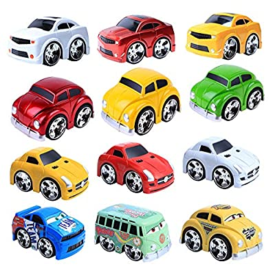 Pull Back Cars Toys,Pull Back Vehicles,Kids Fun...