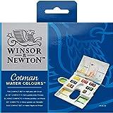 Winsor & Newton Cotman Caja plástica compacta acuarela, 14 medio...
