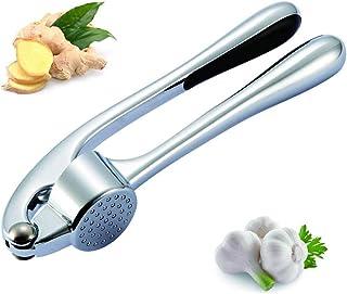 herrienta de prensado de Acero Inoxidable Exprimidor Manual de ajo Smasher Guangcailun Prensa de ajo trituradora Picadora de Cocina exprimidor de ajos
