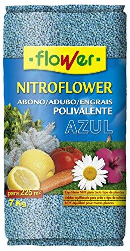 Flower 10598 10598-Abono polivalente, 7 kg, Color Azul, No No Aplica, 26.5x9x41.5...