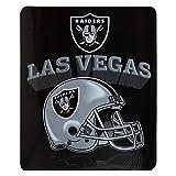 Las Vegas Raiders Fleece Throw